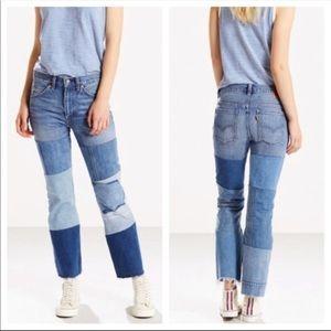 Levi's 517 Patchwork Jeans